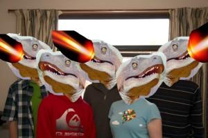 The Laser Raptors